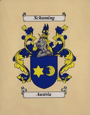 The Schaming Family Crest